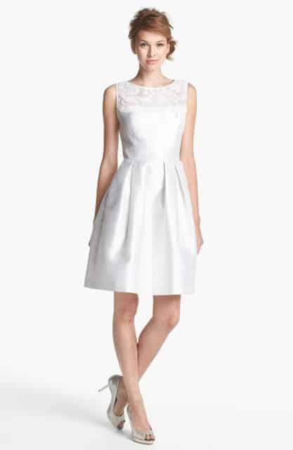 Vestidos de novia blanco para boda civil