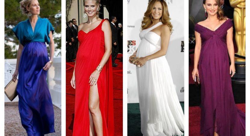 Vestidos de fiesta mujeres embarazadas