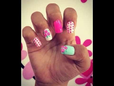 ideas modelos uñas decoradas