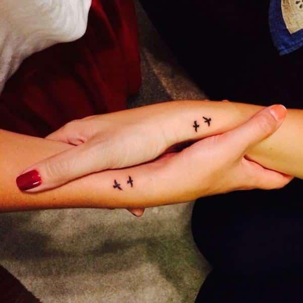 tatuajes pequenos para amigas