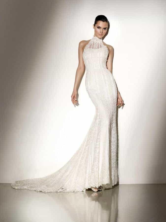 Vestidos de novia ajustados ala cintura