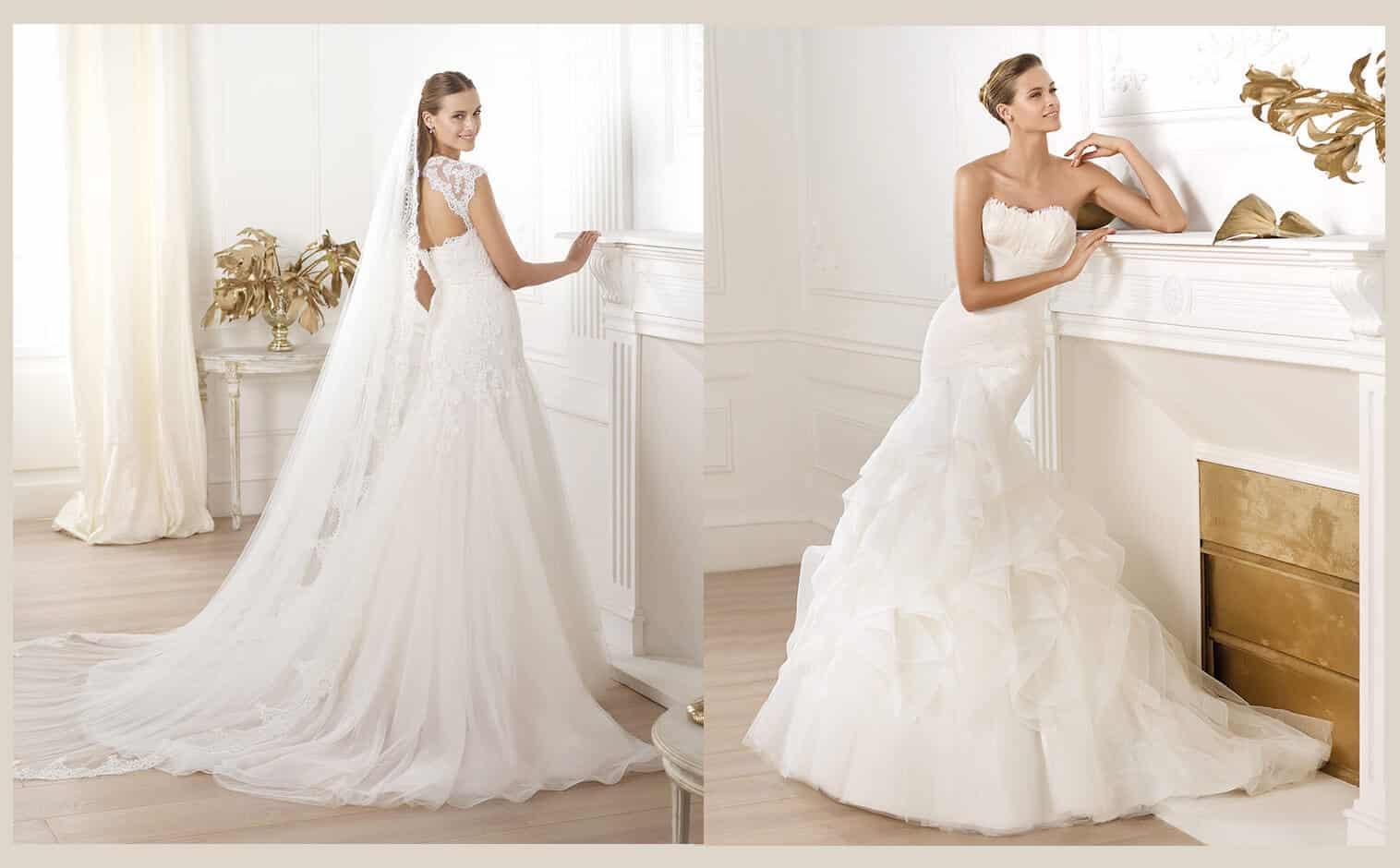 72b80cefc0452 Lindos vestidos de novia ajustados al cuerpo para casarte en el 2019 -  Mujeres Femeninas