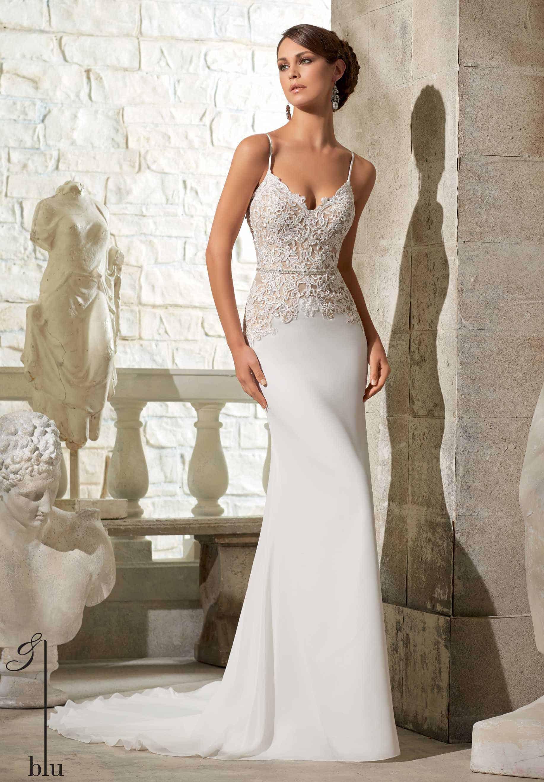 Los mejores vestidos de novia sencillos
