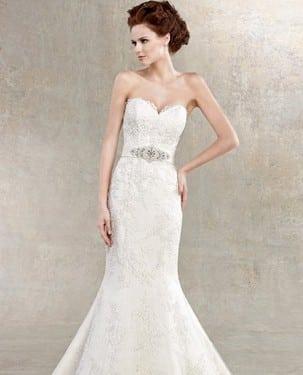 Vestidos de novia cortos y ajustados