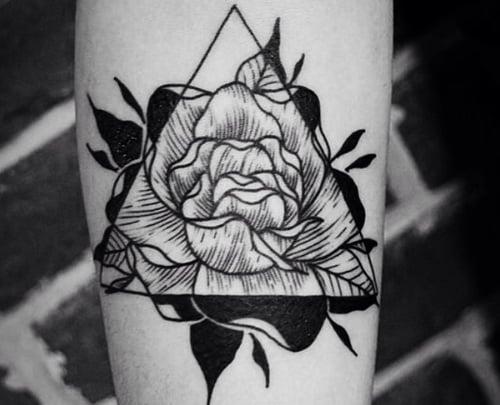 Tattoo de Rosa Negra
