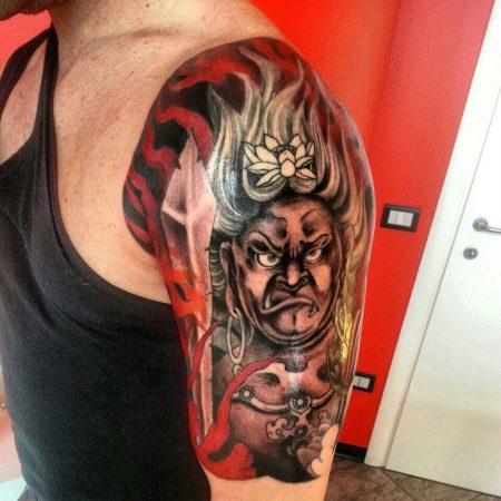 tatuaje fudo myoo