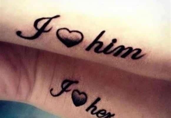tatuaje para parejas