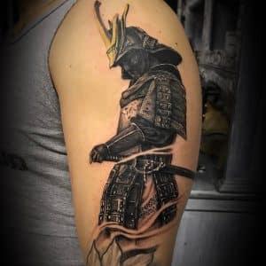 tatuaje samurai japones