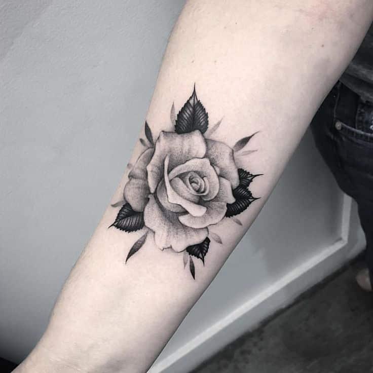 Tatuajes De Rosas Y Todos Sus Significados