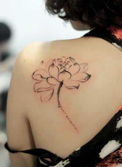 tatuajes-hombro-flor