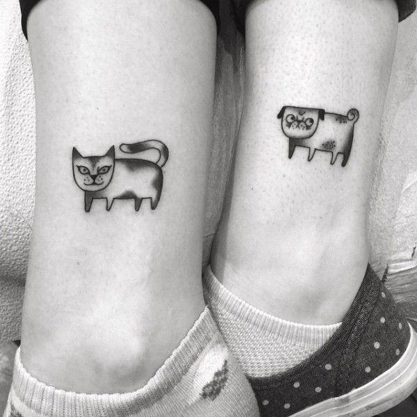 100 Ideas de Tatuajes para Mejores Amigas 😍 💯 Pequeños - Mujeres ...
