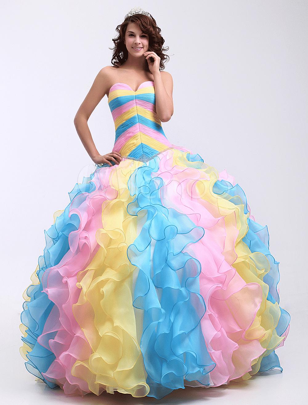 1005da500 Los mejores vestidos de 15 años que toda quinceañera desea - Mujeres ...