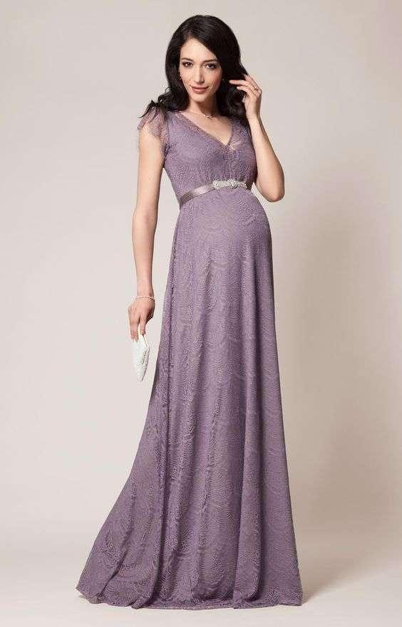 Vestidos de Fiesta de Noche para Embarazadas - Mujeres Femeninas