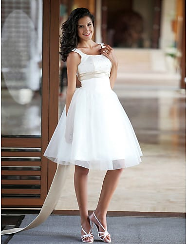 civil vestido,de,novia,corto