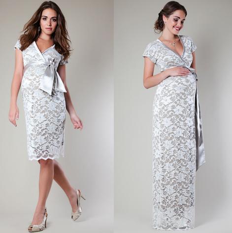 Vestidos para fiesta de matrimonio para embarazadas