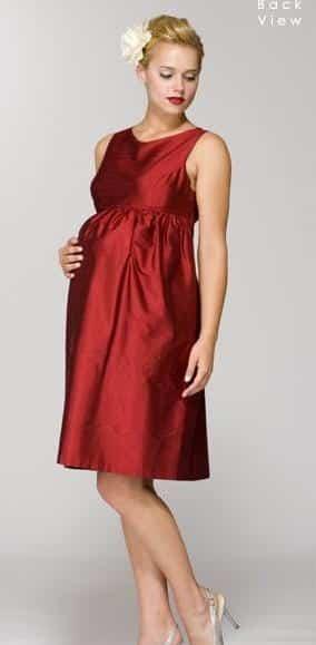 Vestidos de coctel para embarazadas 2019