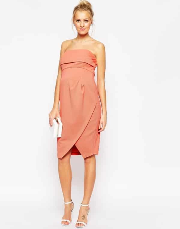 e4e8abcd4 Vestido corto para embarazadas para marcar la barriga embarazada y tiene  una parte con cierre en los pechos para amamantar sirve para el periodo  premamá