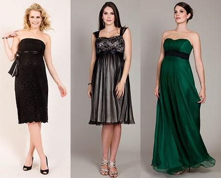 c581b6450 Vestidos cortos y uno largo en diferentes modalidades para vivir una noche  especial