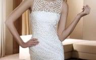 vestidos de novia cortos para boda civil