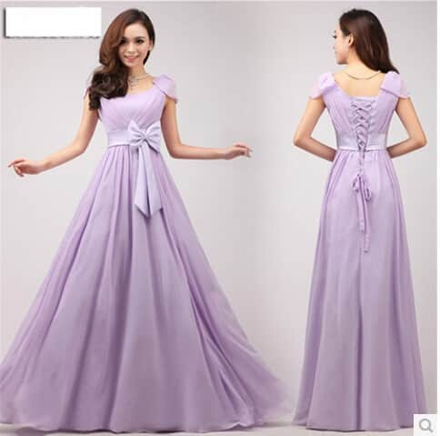 Vestidos largos y cortos boda
