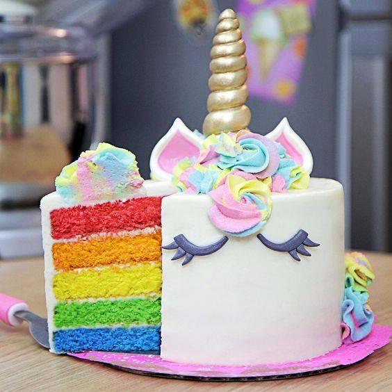 37 ideas de pasteles de unicornios f cil paso a paso for Ver pisos decorados