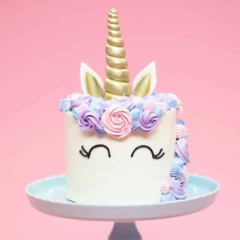 37 Ideas De Pasteles De Unicornios Fácil Paso A Paso