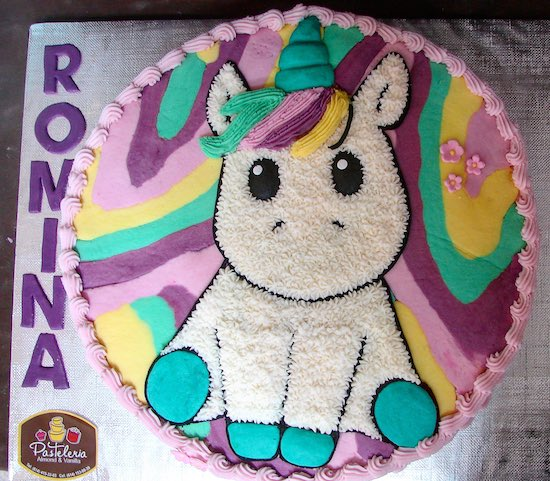 37 ideas de pasteles de unicornios f cil paso a paso - Idee plancha party ...