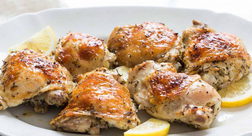 Pollo al horno con lim n receta de cocina f cil r pida y - Cocina rapida y facil ...